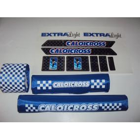 Caloi Cross Extra Light 84 Azul ,espumas E Adesivos