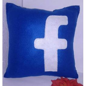 Almofadas Em Feltro Facebook- Nani Mimos