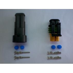Delphi Conector Superseal Kit Completo Um Par De Terminais