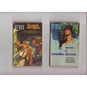 Lote 5 Bolsilivros Fbi, Historias Policiais E Investigações