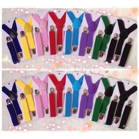 Tirantes Suspenders Para Niños Unisex Varios Colores