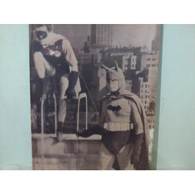 Poster Batman/robin Anos 50 P/ Colecionador