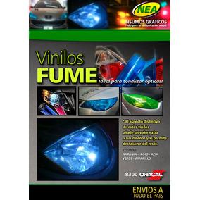 Vinilo Fume Naranja Oracal P Faros Autos/motos Tuning Optica