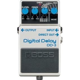 Pedal Boss Dd-3 Digital Delay - Original!
