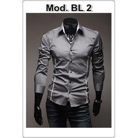 Camisa Social Slim Fit Importada Frete Grátis+de 150 Modelos ... 5eb27898d3dea