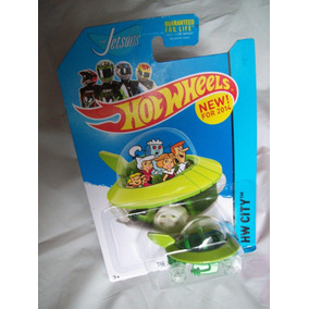 Hot Wheels Los Supersonicos The Jetsons Capsule Car 2014.