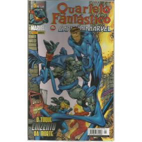 Quarteto Fantastico E Capitao Marvel 5 Bonellihq Cx393 G18