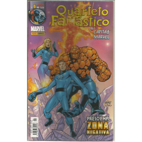 Quarteto Fantastico E Capitao Marvel 06 Bonellihq Cx393 G18