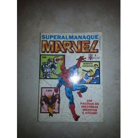 Revistinha Superalmanaque Marvel - Nº 1 E 2 -raridade