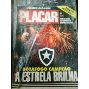 Revista Pôster Botafogo Campeão Carioca 89
