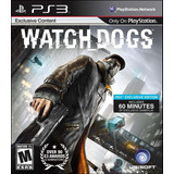Watch Dogs Ps3 Digital Gcp
