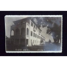 Cartão Postal Antigo Radio Hotel Araxá