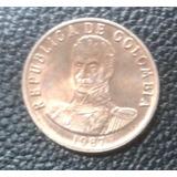 2 Pesos De Colombia - 1987 - Bronce - Nueva - Bu!!