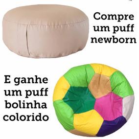 51c9a927d0 Puff Newborn 80x20 Grátis Puff Bola Infantil Colorido Cheio