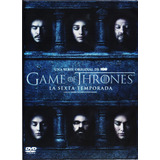 Game Of Thrones Juego De Tronos Sexta Temporada 6 Seis Dvd