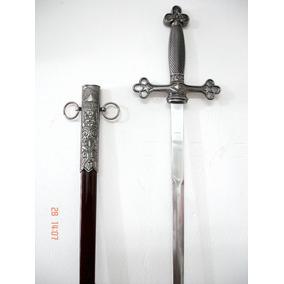 Espada Punhal Adaga Maçônica De Origem Europeia Belíssima