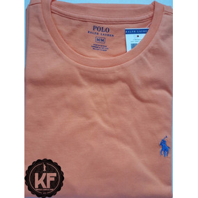 Camisa Básica Gola Redonda Ralph Lauren Original