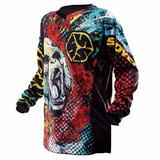 Camisa Scoyco Rock Motocross Moto Camiseta Off Road Crf230
