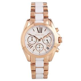 d6bafa1f0ed Relógio Michael Kors Mk5464 White Rose Golden Novo!! - Relógios no ...
