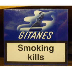 Cigarrillos Gitanes Box De 20 Lleno Sin Filtro