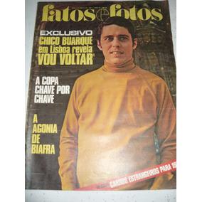 Revista Fatos E Fotos 469 Buarque Lennon Pelé Santos 1970