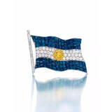Prendedor Bandera Argentina