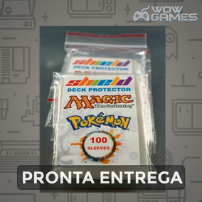 Shields Sleeves Magic / Pokémon Com 100 Unidades - Protetor