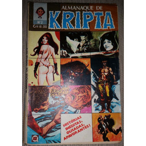 Gibi Almanaque De Kripta Nº 2 Editora Rge 1979