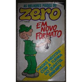 As Melhores Piadas Do Zero Nº 1 - Editora Rio Gráfica 1986