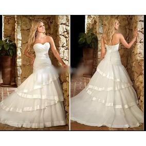 Vestido De Noiva Sereia (novo) - Frete Gratis Brasil