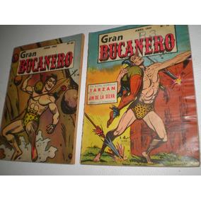 Tarzan - Gran Bucanero - 3 Comics Antiguos No Envios