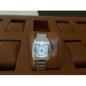 Reloj Cartier Santos Acero Oro Caballero