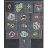 14 Figuritas Plateadas Panini Sudafrica 2010 Nuevas ! Lote !