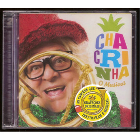 Cd- Chacrinha - O Musical