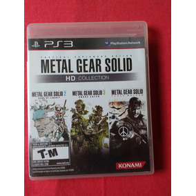Metal Gear Solid Hd Collection Ps3 M. Fisica Frete R$10
