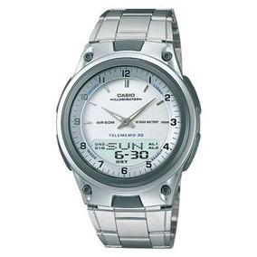 6f28d796111 Casio Databank Illuminator Ana Digi Abc 30 - Relógios De Pulso no ...