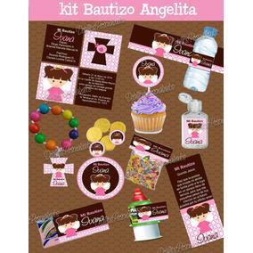 Originales Recuerdos Para Bautizo Nino Kits Imprimibles En Mercado