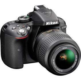Câmera Nikon D5300 D-5300 24.2 Mp C/lente 18-55