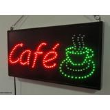Anuncio Luminoso Dinámico Café/letrero Leds Café Dinámico