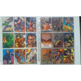 Cards Marvel Vs Dc Importado