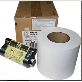 Papel & Ribbon Para Impressora Kodak 605 E 6800 /6850