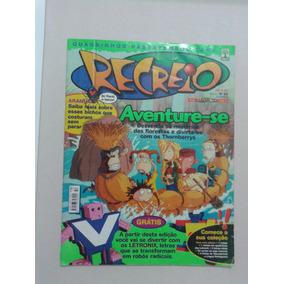 Lote 6 Revista Recreio Digimon Pokémon Oficial Antiga