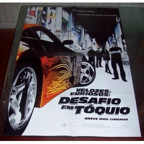 Cartaz/poster Cinema Filme Velozes E Furiosos 3