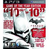 Batman Arkham City Goty Ps3 Digital Gcp