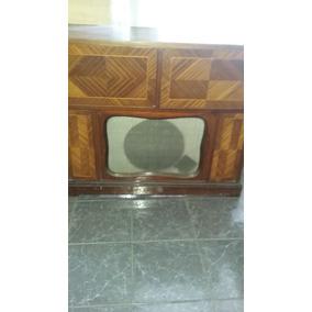 Mueble Combinado Winco Radio Tocadisco Decoracion Reparar