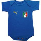 Body Camiseta Seleção Italiana Itália Azurra Pirlo Balotelli daf48914aabda
