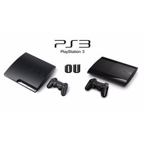 Playstation 3 Slim Ou Super Slim Seminovo C/2 Jogos M.física