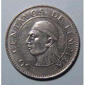 Honduras 50 Centavos De Lempira 1994 Excelente Km 84a 1