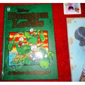 Disney Dragon Lords, Lacrada, Capa Dura Ed Especial + Brinde