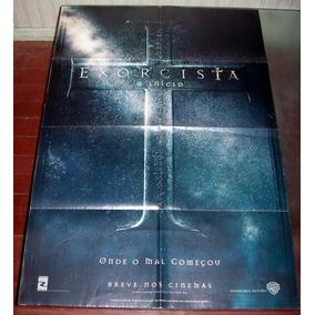 Cartaz/poster Cinema Filme O Exorcista, O Início - Terror